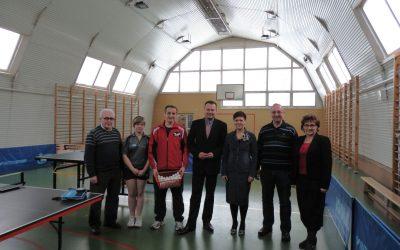 Otwarcie Uczniowskiego Klubu Sportowego w Janówku