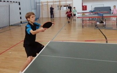 IV Warsztaty tenisa stołowego dla dzieci