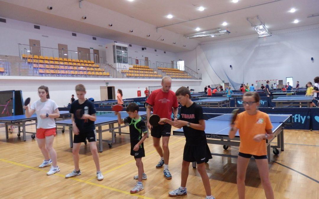 Szkolenia integralnego tenisa stołowego 2009-10