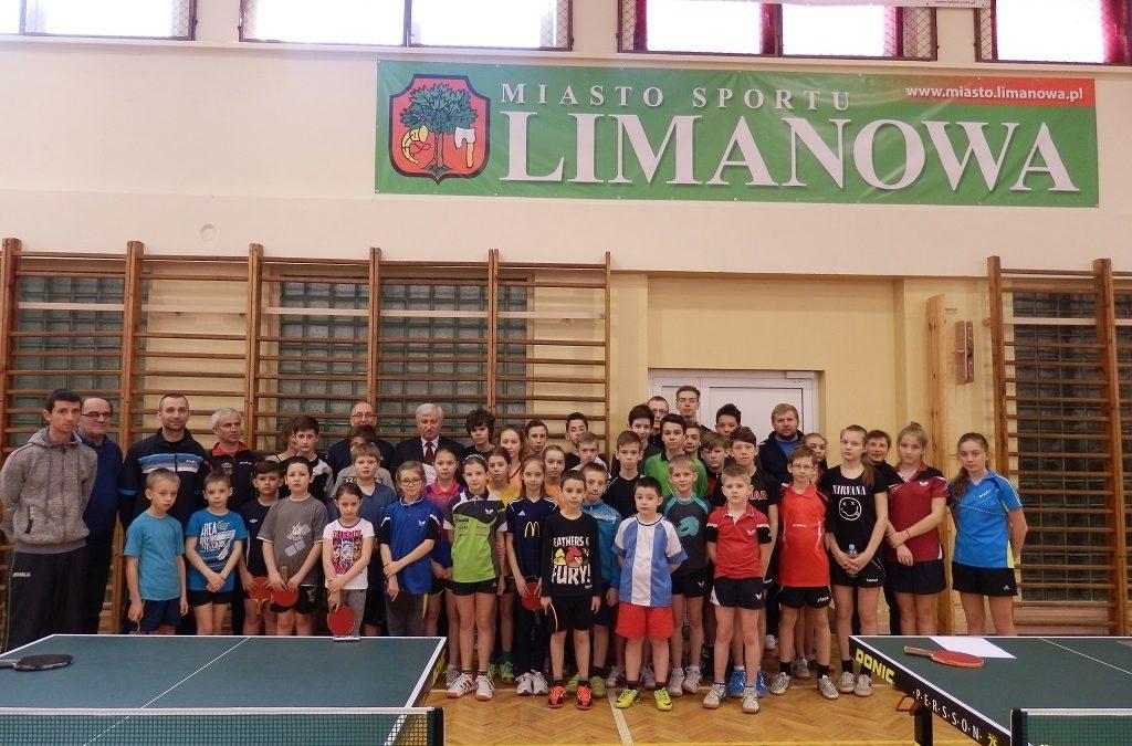 Podczas treningu zaszczycił nas swą obecnością Burmistrz Limanowej Pan Władysław Bieda