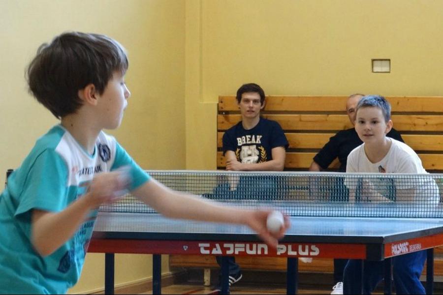 Otwarty dzień tenisa stołowego w Pszczynie