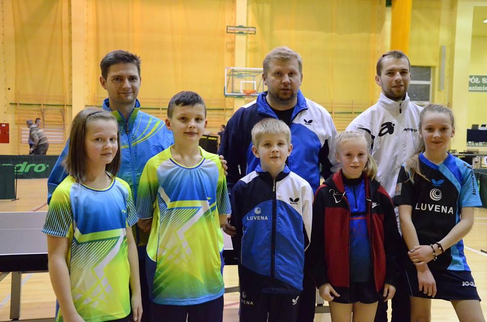 Uczestnicy programu FUNdamenty w 2. Grand Prix Polski Żaków w Radomiu
