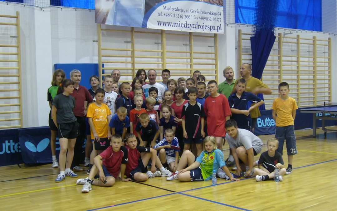 Pierwszy obóz w Międzyzdrojach 2011