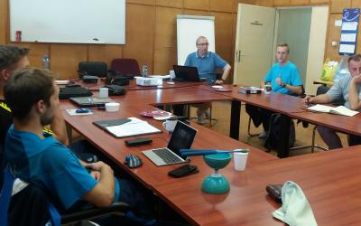 Warsztat w Luboniu – Trening fizyczny w tenisie stołowym