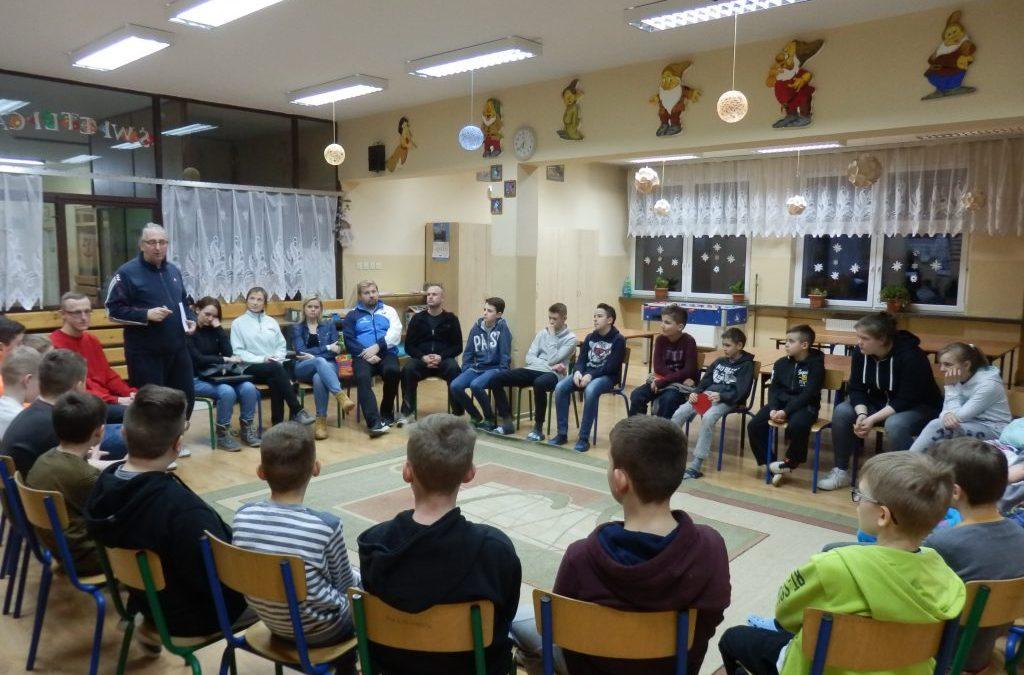 Zimowy obóz w Limanowej
