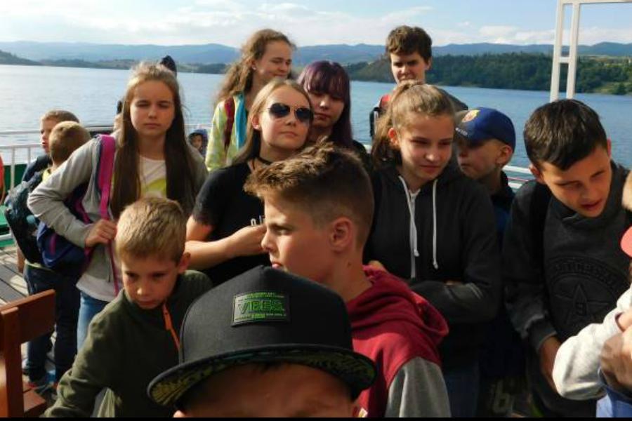 Obóz w Limanowej. Wycieczka do Niedzicy w obiektywie Lucyny Dąbrowskiej