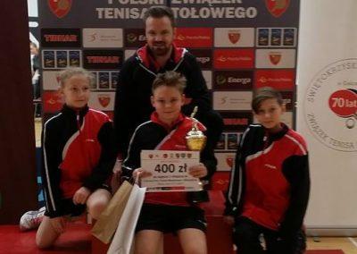 Sukcesy na II Grand Prix Polski Młodzików w Bilczy 06