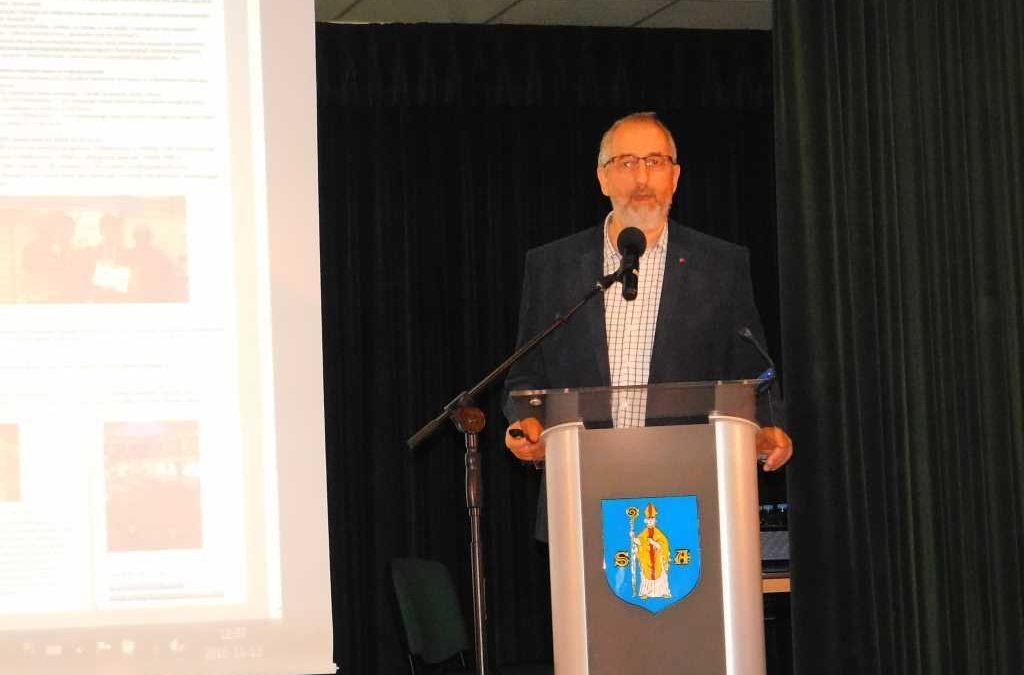 Konferencja na temat systemu szkolenia w gminie Serock