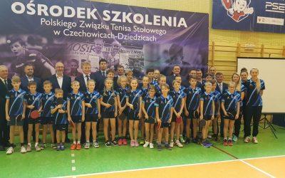 Otwarcie Ośrodka Szkoleniowego PZTS w Czechowicach – Dziedzicach