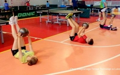 Refleksje trenerów po szkoleniu FUNdamenty 0 Trening fizyczny w tenisie stołowym